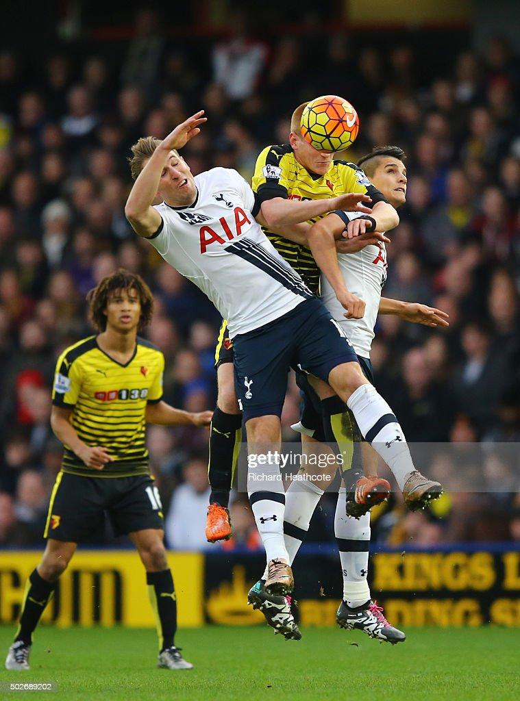 Watford v Tottenham Hotspur - Premier League : News Photo