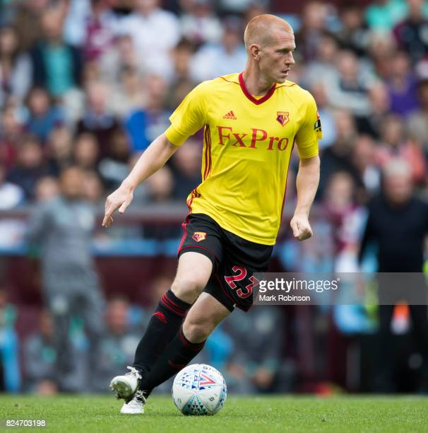 Ben Watson of Watford during the pre season friendly match between Aston Villa and Watford at Villa Park on July 29 2017 in Birmingham England