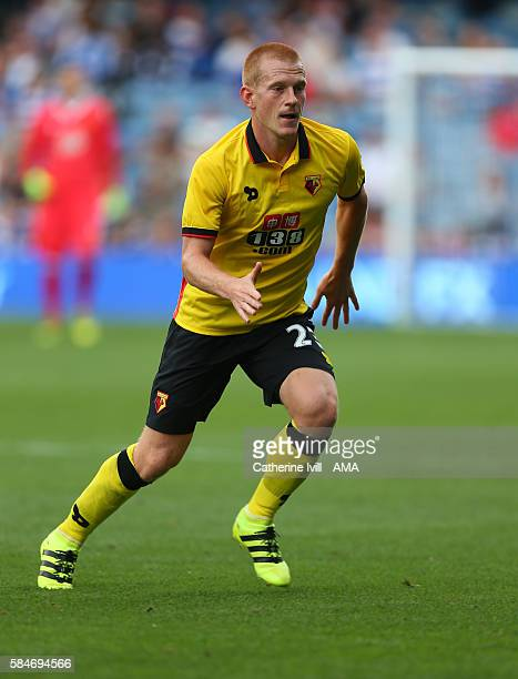 Ben Watson of Watford during the PreSeason Friendly match between Queens Park Rangers and Watford at Loftus Road on July 30 2016 in London England