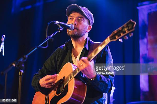 Ben Watt of the Ben Watt Band performs on stage at Belgrave Music Hall on May 26 2016 in Leeds England