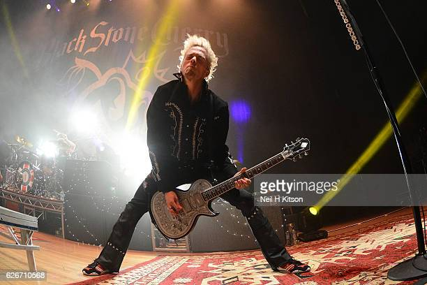 Ben Wells of Black Stone Cherry performs at Sheffield City Hall on November 28 2016 in Sheffield England