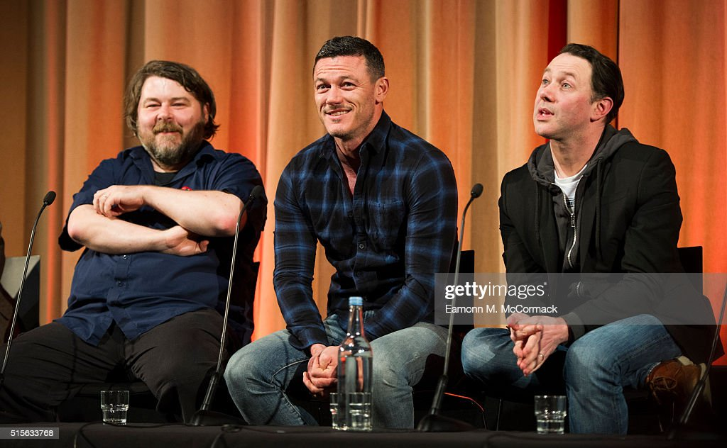 Ben Wheatley, Luke Evans and Reece Shearsmith attend preview Screening and Q&A of 'High Rise' at BFI Southbank on March 14, 2016 in London, England.