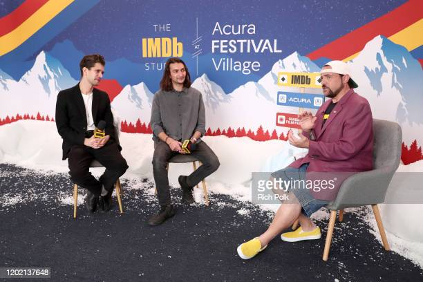 Ben Whishaw Aneil Kria of 'Surge' and Kevin Smith attend the IMDb Studio at Acura Festival Village on location at the 2020 Sundance Film Festival –...