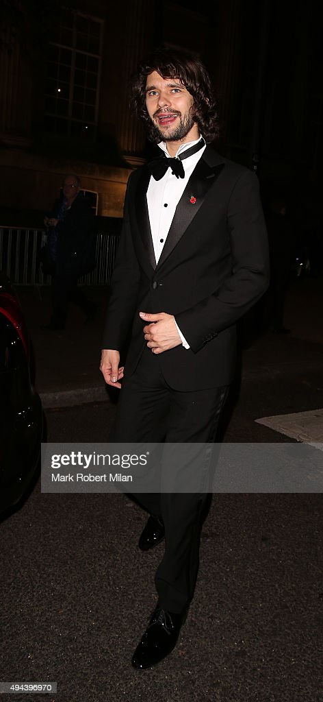 Ben Whishaw attending the Spectre Premiere after party at the British Museum on October 26, 2015 in London, England.