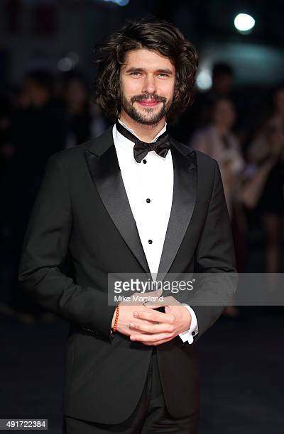 Ben Whishaw attends a screening of Suffragette on the opening night of the BFI London Film Festival at Odeon Leicester Square on October 7 2015 in...