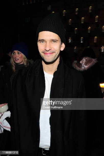 Ben Whishaw attends Brunch With The Brits 2020 during the Sundance Film Festival at High West Distillery on January 26 2020 in Park City Utah