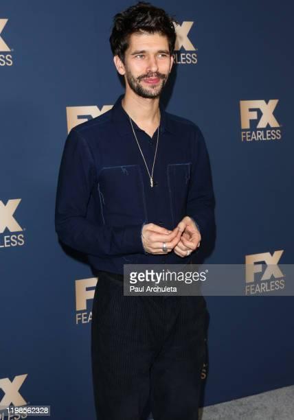 Ben Whishaw attends FX Networks' Star Walk Winter Press Tour 2020 at The Langham Huntington Pasadena on January 09 2020 in Pasadena California