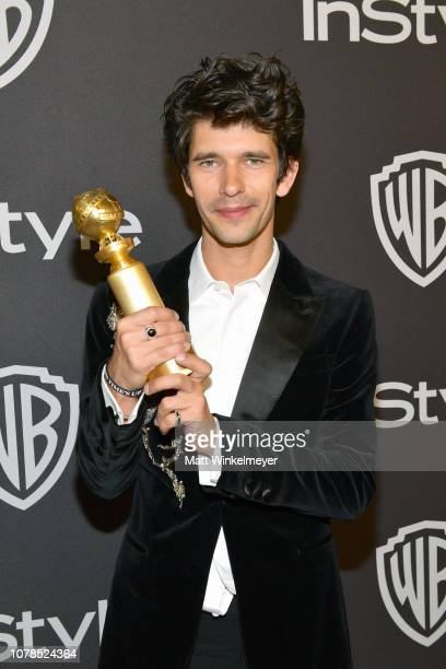 Ben Whishaw attends the 2019 InStyle and Warner Bros 76th Annual Golden Globe Awards PostParty at The Beverly Hilton Hotel on January 6 2019 in...