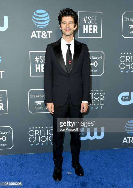 Ben Whishaw attends the 24th annual Critics' Choice Awards at Barker Hangar on January 13 2019 in Santa Monica California