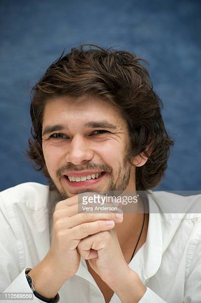 Ben Whishaw attends the Bright Star press conference at the Four Seasons Hotel on September 12 2009 in Toronto Canada