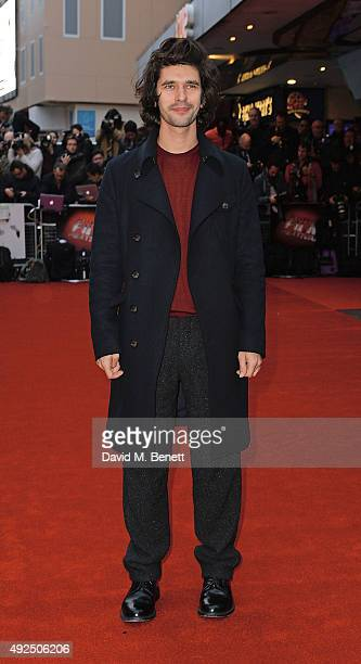 Ben Whishaw attends the Dare Gala Screening of 'The Lobster' during the BFI London Film Festival at Vue West End on October 13 2015 in London England