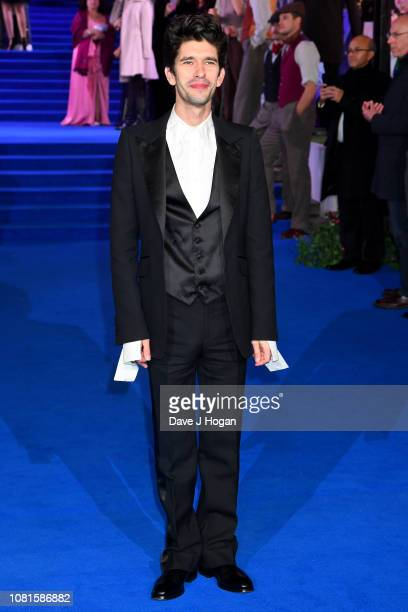 Ben Whishaw attends the European Premiere of Mary Poppins Returns at Royal Albert Hall on December 12 2018 in London England