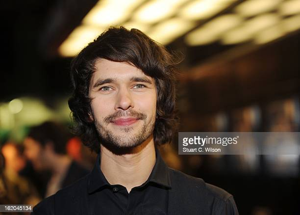 Ben Whishaw attends the gala screening of 'Cloud Atlas' at The Curzon Mayfair on February 18 2013 in London England