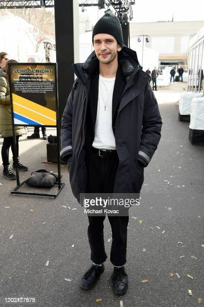 Ben Whishaw attends the IMDb Studio at Acura Festival Village on January 26 2020 in Park City Utah