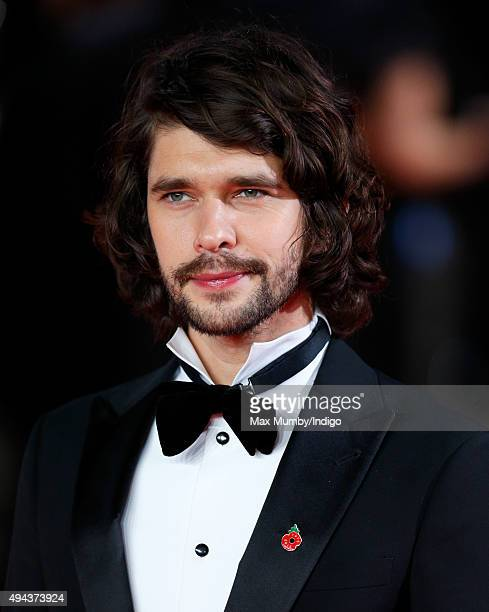 Ben Whishaw attends the Royal Film Performance of 'Spectre' at The Royal Albert Hall on October 26 2015 in London England
