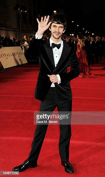 Ben Whishaw attends the Royal World Premiere of 'Skyfall' at the Royal Albert Hall on October 23 2012 in London England