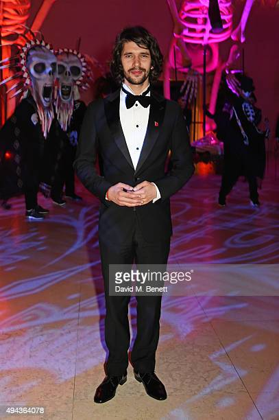 Ben Whishaw attends the World Premiere after party of 'Spectre' at The British Museum on October 26 2015 in London England
