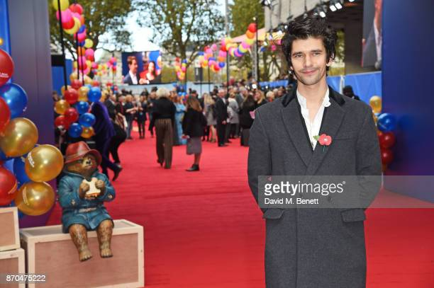 Ben Whishaw attends the World Premiere of 'Paddington 2' at the BFI Southbank on November 5 2017 in London England