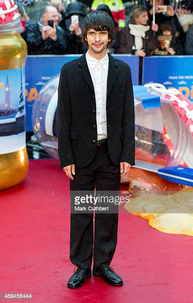 Ben Whishaw attends the World Premiere of Paddington at Odeon Leicester Square on November 23 2014 in London England
