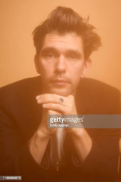 Ben Whishaw from Surge poses for a portrait at the Pizza Hut Lounge on January 26 2020 in Park City Utah