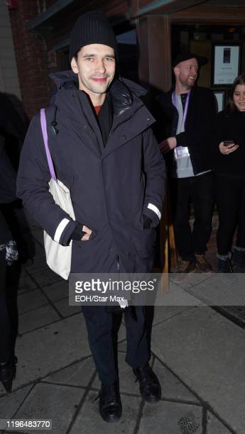 Ben Whishaw is seen on January 25 2020 in Park City Utah