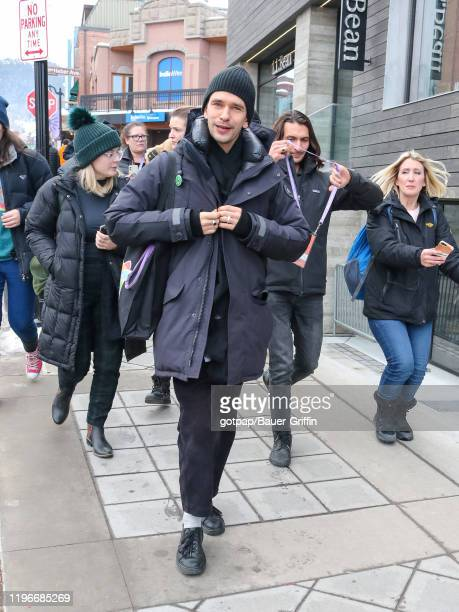 Ben Whishaw is seen on January 26 2020 in Park City Utah