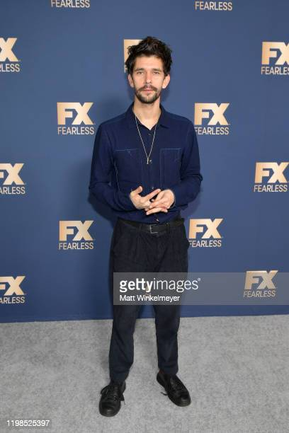 Ben Whishaw of 'Fargo' attends the FX Networks' Star Walk Winter Press Tour 2020 at The Langham Huntington Pasadena on January 09 2020 in Pasadena...