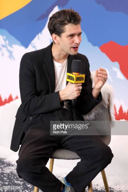 Ben Whishaw of 'Surge' attends the IMDb Studio at Acura Festival Village on location at the 2020 Sundance Film Festival – Day 3 on January 26 2020 in...