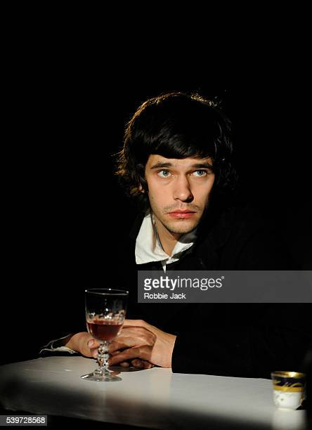 Ben Whishaw performing in the National Theatre's production some trace of her directed by Katie Mitchell at the National Theatre in London