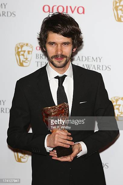 Ben Whishaw poses in the press room at the Arqiva British Academy Television Awards 2013 at the Royal Festival Hall on May 12 2013 in London England