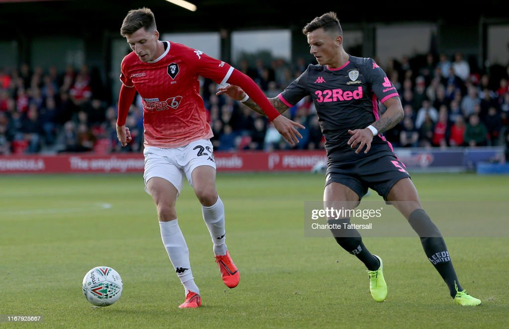 Salford City v Leeds United - Carabao Cup First Round : News Photo