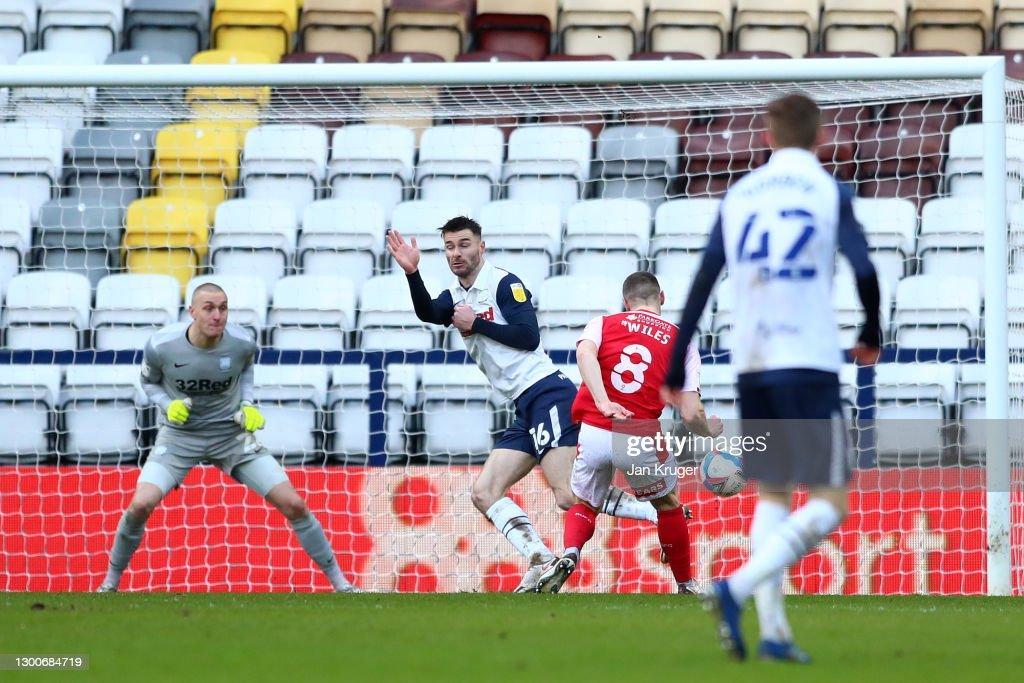 Preston North End v Rotherham United - Sky Bet Championship : News Photo