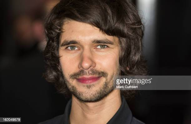 Ben Wishaw attends the gala screening of 'Cloud Atlas' at The Curzon Mayfair on February 18 2013 in London England