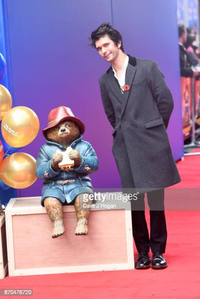 Ben Wishaw attends the 'Paddington 2' premiere at BFI Southbank on November 5 2017 in London England