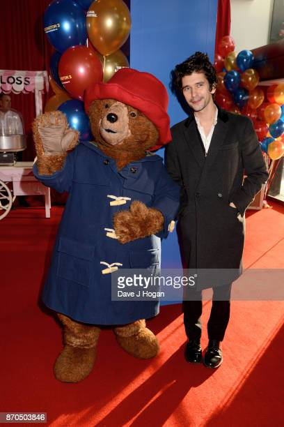 Ben Wishaw attends the 'Paddington 2' premiere at Odeon Leicester Square on November 5 2017 in London England