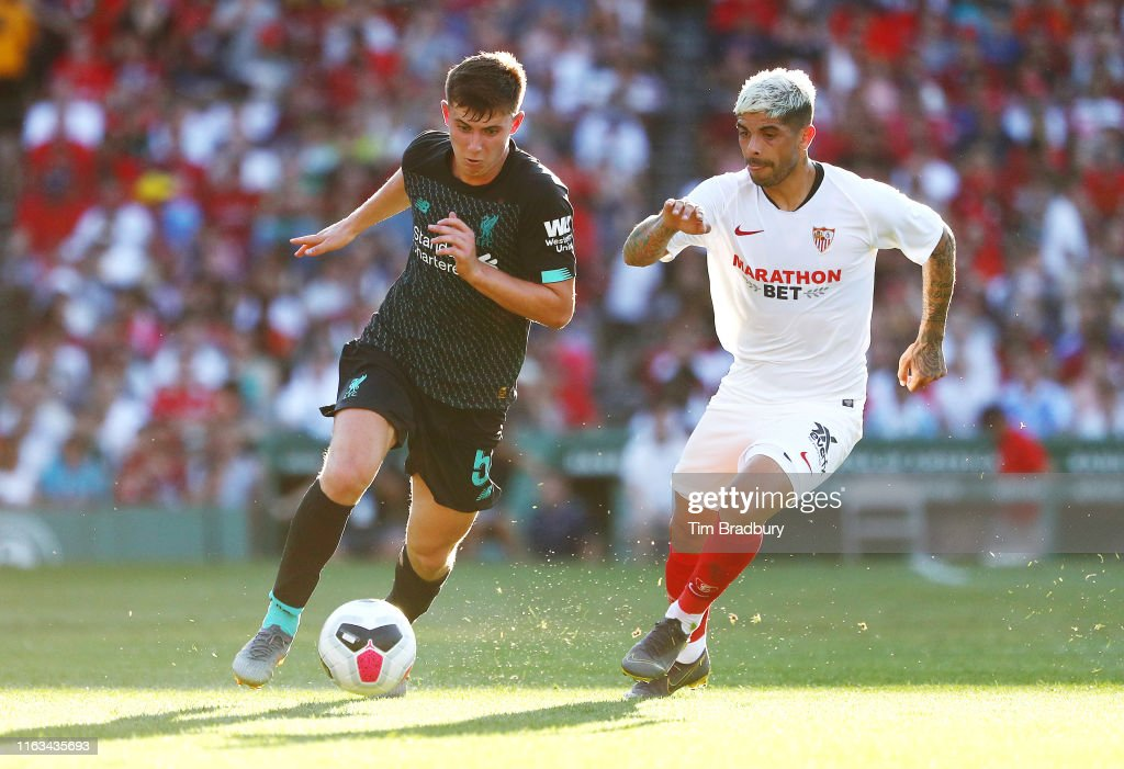 Sevilla v Liverpool - Pre-Season Friendly : News Photo