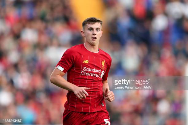 Ben Woodburn of Liverpool during the PreSeason Friendly match between Tranmere Rovers and Liverpool at Prenton Park on July 11 2019 in Birkenhead...