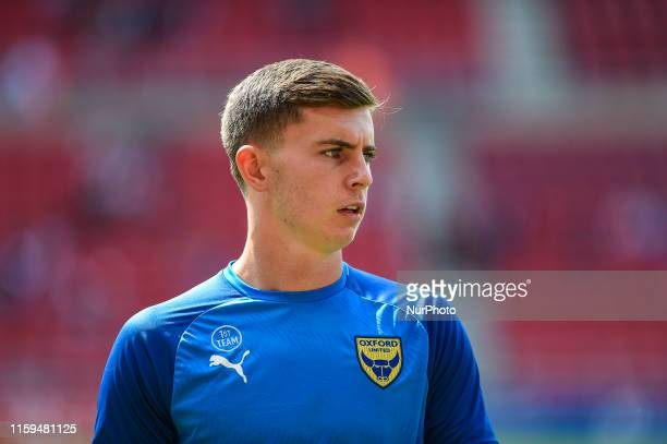 Ben Woodburn of Oxford United during the Sky Bet League 1 match between Sunderland and Oxford United at the Stadium Of Light Sunderland on Saturday...