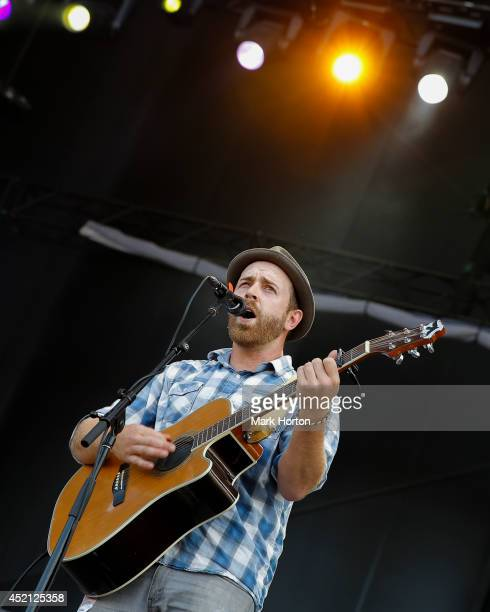 Ben Worcester performs with Said the Whale on Day 10 of the RBC Royal Bank Bluesfest on July 13, 2014 in Ottawa, Canada.
