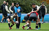 bagshot england ben youngs passes ball
