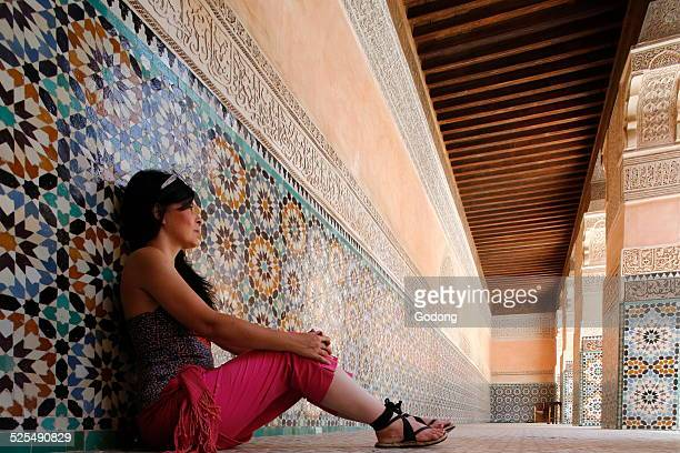 Ben Youssef Medersa is the largest Medersa in Morocco Originally a religious school founded under Abou el Hassan