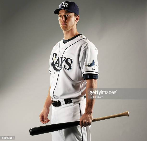 Ben Zobrist of the Tampa Bay Rays poses during Photo Day on February 20, 2009 at the Charlotte County Sports Park in Port Charlotte, Florida.
