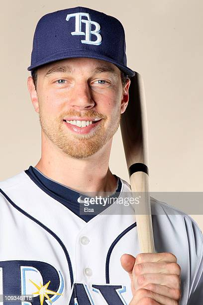 Ben Zobrist of the Tampa Bay Rays poses for a portrait during the Tampa Bay Rays Photo Day on February 22 2011 at the Charlotte Sports Complex in...