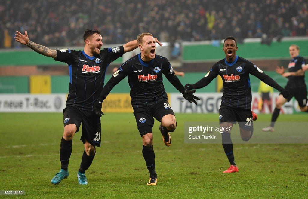 SC Paderborn v FC Ingolstadt - DFB Cup : News Photo