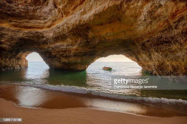 Benagil cave in Algarve, Portugal, Europe