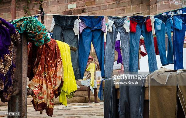 CONTENT] Benaras has a few dhobi Ghats These ghats are used purely for washing cloths It is usual to see the dhobi wallahs doing the laundry beside...
