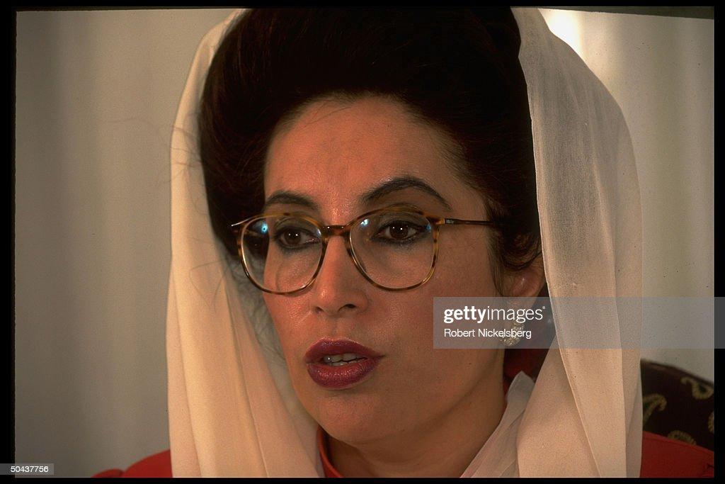 Benazir Bhutto : News Photo