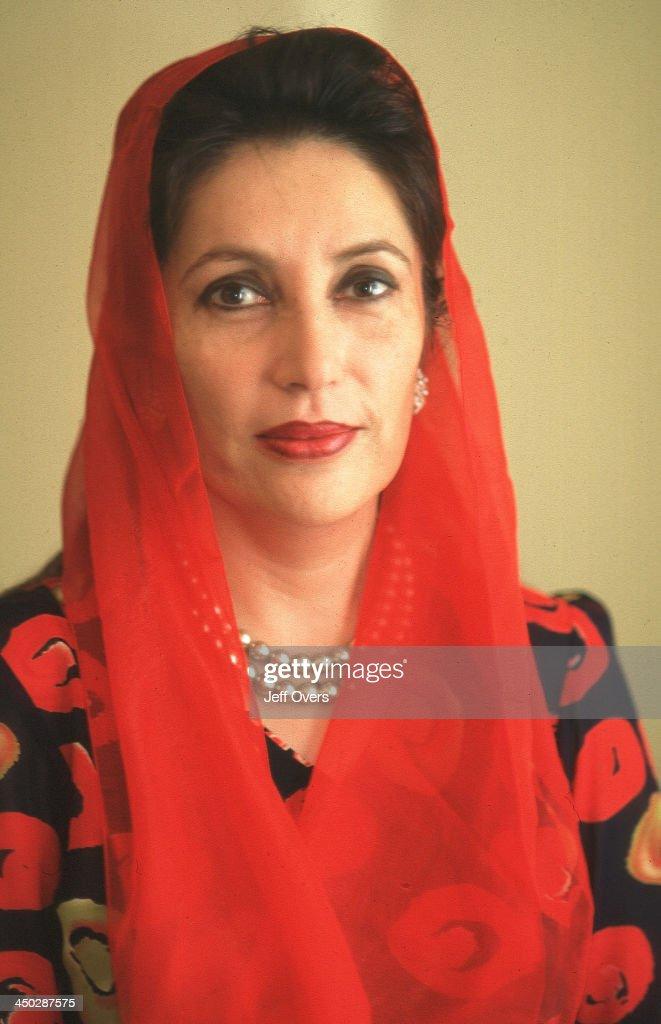 Benazir Bhutto, Portrait.