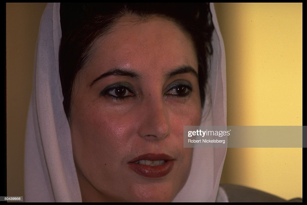 Benazir Bhutto : News Photo