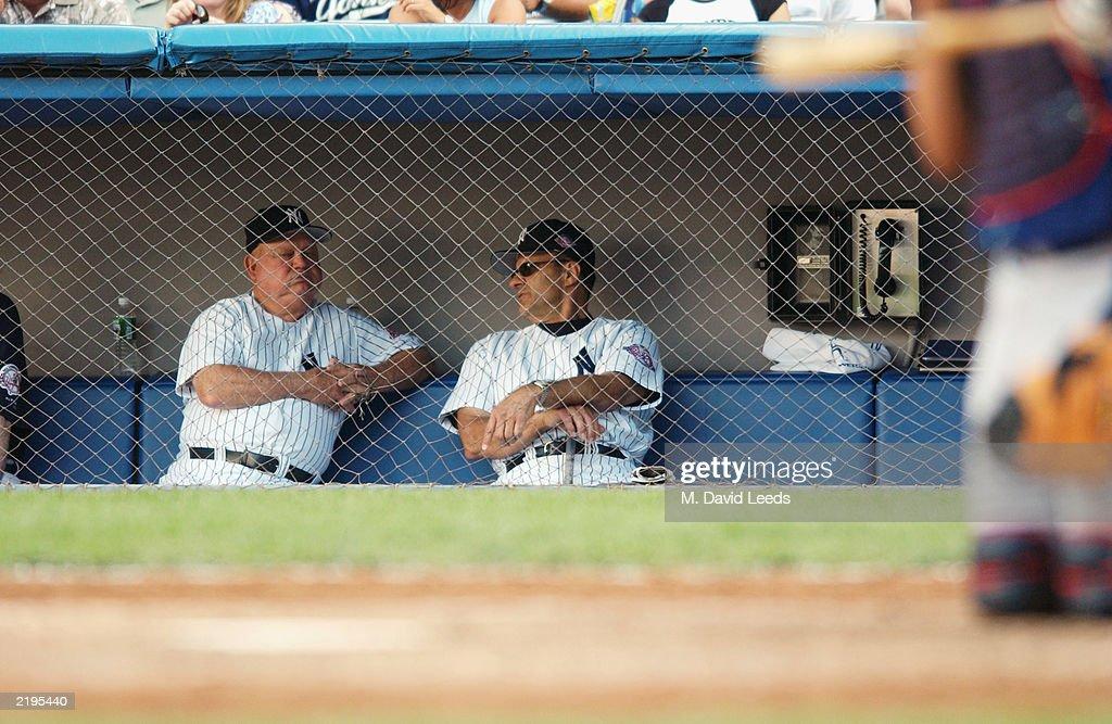 Indians v Yankees